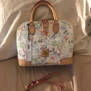Disney Dooney Zip Zip Satchel - Walk in the Park
